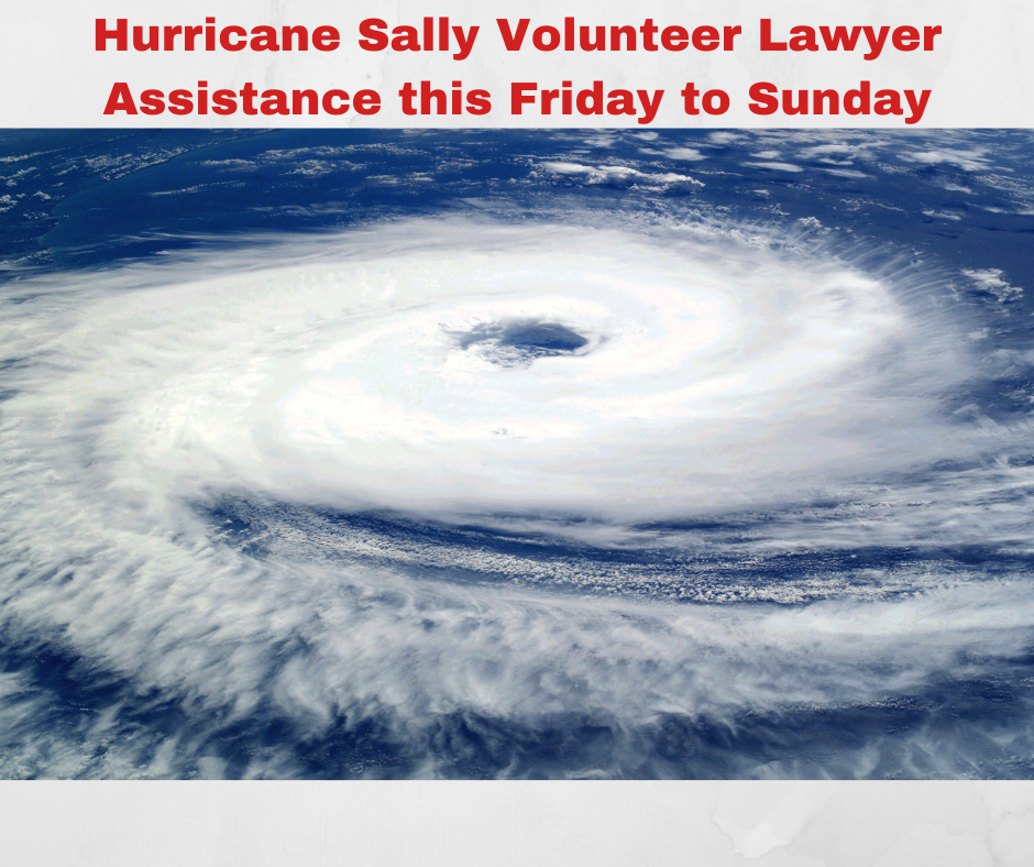 Hurricane Sally Relief, LSNF Needs Our Help