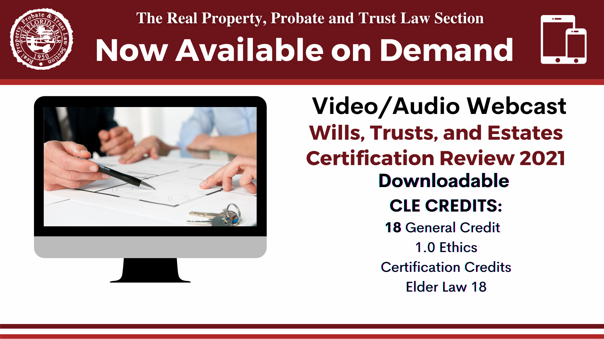 Wills, Trusts, and Estates Certification Review Available On Demand